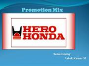 Hero Honda promotion