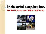 Industrial Surplus World - Industrial Surplus