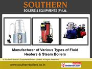 Steam Boiler By Southern Boilers & Equipments Private Limited Chennai