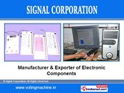 Electronic Voting Machine By Signal Corporation Pune