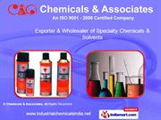 Speciality Chemicals. By Chemicals & Associates Bengaluru