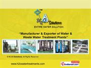 Mineral Water Plants By H 2 O Solutions New Delhi