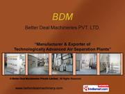 Nitrogen Gas Plants By Better Deal Machineries Private Limited. New