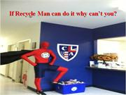 recycling man presentation