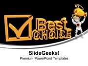 SPORTS BEST CHOICE WINNER COMPETITION PPT TEMPLATE