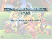 Winnie-the-Pooh Learning Styles Test Slideshow