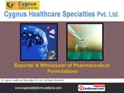 Anti Depressants Drugs By Cygnus Healthcare Specialities Pvt. Ltd.