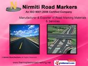 Road Marking Material. By Nirmiti Road Markers Thane