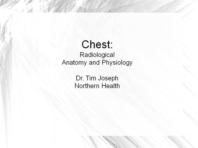 Chest Anatomy And Physiology |authorSTREAM