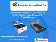 Cnc Water Jet Cutting Machine - Kmt Series By A Innovative