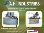 Pharmaceutical Packing Machine By A. H. Industries Ahmedabad