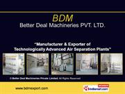 Acetylene Series Plants By Better Deal Machineries Private Limited New