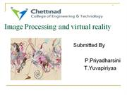 Image Processing and virtual reality