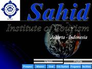 Sahid Institute of Tourism