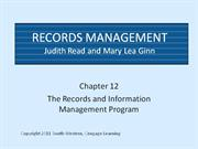 CH12 Records Management