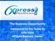 Xpress Healthcare Business Opportunity