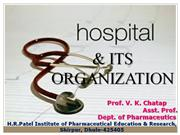 hospital & its organization