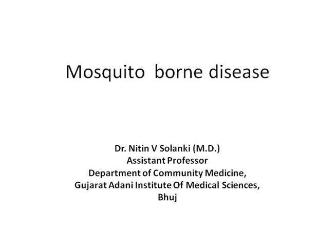 Mosquito borne disease authorstream toneelgroepblik Gallery