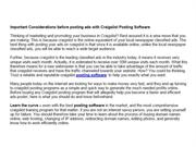 CL Bot Pro Craigslist Marketing Software Auto Poster For CL Tools For