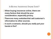 Online Insurance - Easiest Way of Buying Insurance