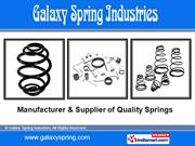 Metal Springs By Galaxy Spring Industries Faridabad