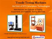 Sole Adhesion Tester By Leather Testing Machines, An Unit Of Ets