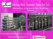 Sewage And Effluent Treatment Plant By Marcuras Water Treatment