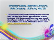 directory listing, business directory, paid directory