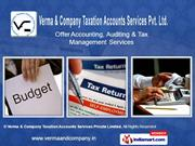 Income Tax Services By Verma & Company Taxation Accounts Services