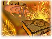 Eid Wishes and Greetings