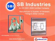 Metal Clamps By Sb Industries Kolkata