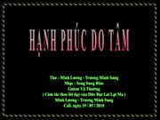 -HANH PHUC DO TAM  - ML-TMS-  Guitar Vo Thuong - Bp