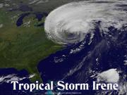 Tropical Storm Irene - USA