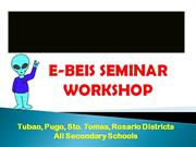 Enhanced BEIS Seminar Workshop presentation