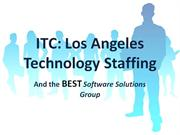 ITC- Los Angeles Technology Staffing