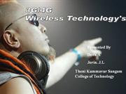 3G and 4G Technology