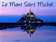 Postcard from Mont St Michel (France)
