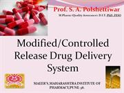 CRDDS by Prof S A Polshettiwar
