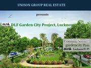 dlf garden city plots  lucknow