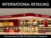 International Retailing