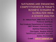 Social Structures: A Gender Analysis by Prof. vibhuti Patel