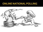 ONLINE NATIONAL POLLING