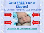 Free year of diapers