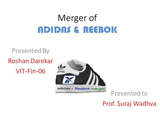 When Did Adidas Merger With Reebok - Reebok Of Ceside Co