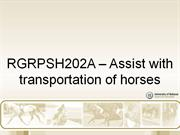 RGRPSH202A_Assist_with_transportation_Element_1