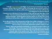 Do We Need To Have A User Centered Paradigm Shift