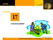 Chapter 17-CASH MANAGEMENT
