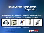 By Indian Scientific Instruments Corporation Ghaziabad
