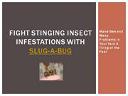 Fight Stinging Insect Infestations with Slug-A-Bug