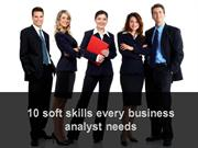 Business Analyst basic Softskills